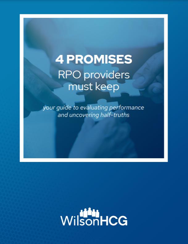 4promises RPO providers must keep whitepaper cover