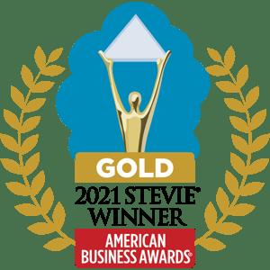 Gold_2021 Stevie Winner_logo
