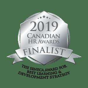CHRA Finalist Badge_The Seneca Award for Best Learning & Development Strategy