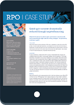 Case Study on Reducing Quick Quit Turnover