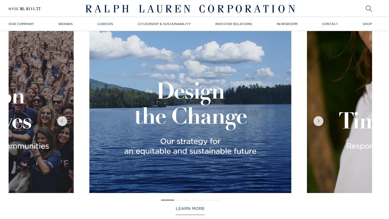 Ralph Lauren CSR