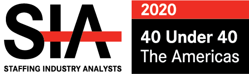 Image of the SIA 40 under 40 logo 2020