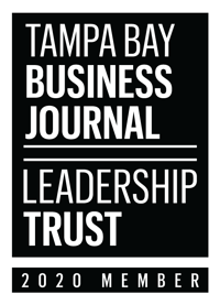 Tampa Bay Business Journal Leadership Trust 2020 logo