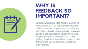 The importance of candidate feedback