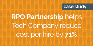 RPO partnership helps tech company reduce cost per hire by 71_ ORANGE