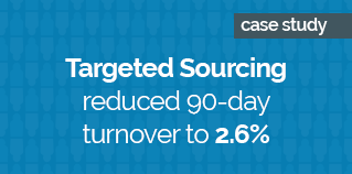 Targeted sourcing reduced 90-day turnover to 2.6_ BLUE