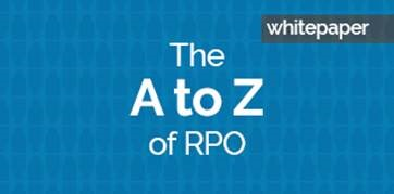 The A to Z of recruitment process outsourcing (RPO) whitepaper